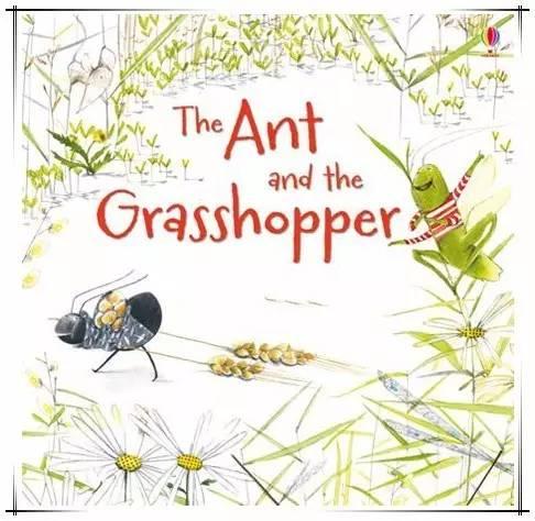 外教读睡前故事 | The Ant and the Grasshopper 蚂蚁和蚱蜢