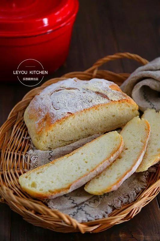 懒人最爱!不用揉面,一样可以做面包