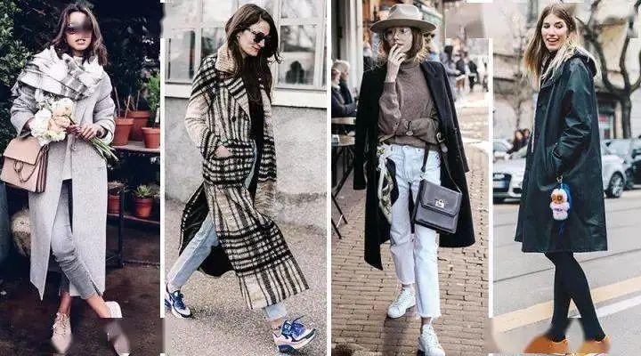 """冬天穿"""" 长大衣 + 平底鞋 """" = 好看又高级,时髦炸了"""