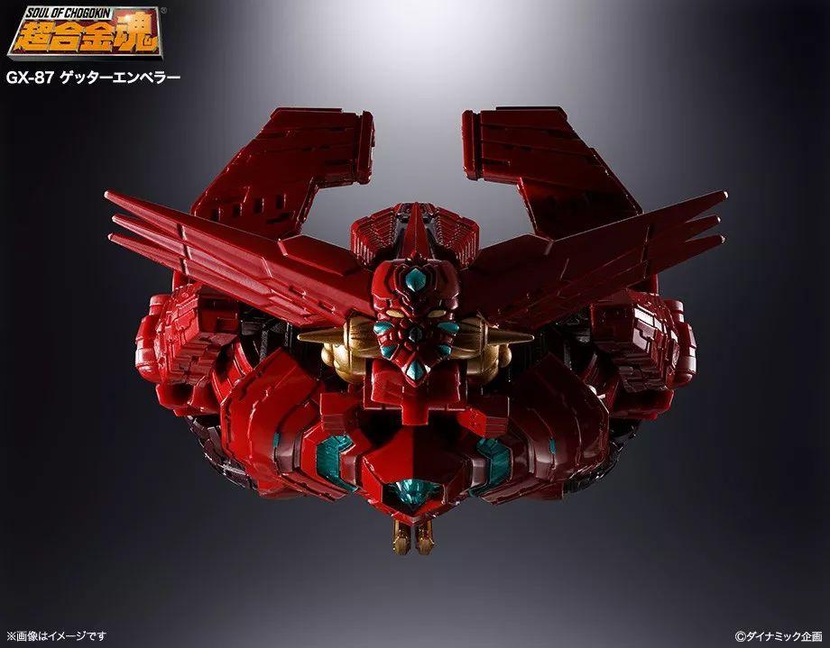 超合金魂蓋塔皇帝終于來了!蓋塔戰艦簡直帥爆!