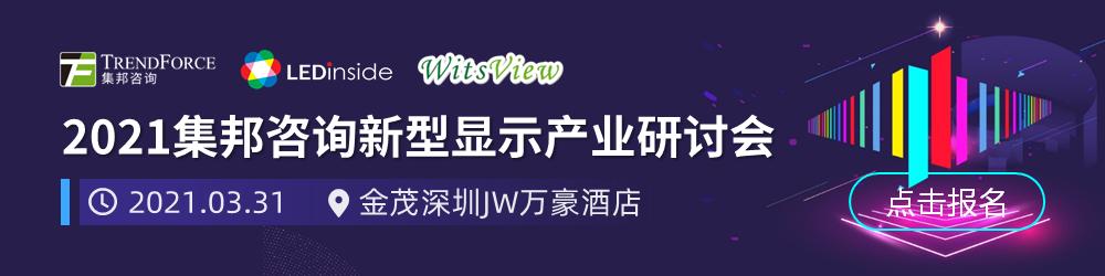 WitsView 2021 2月上旬 面板价格快报